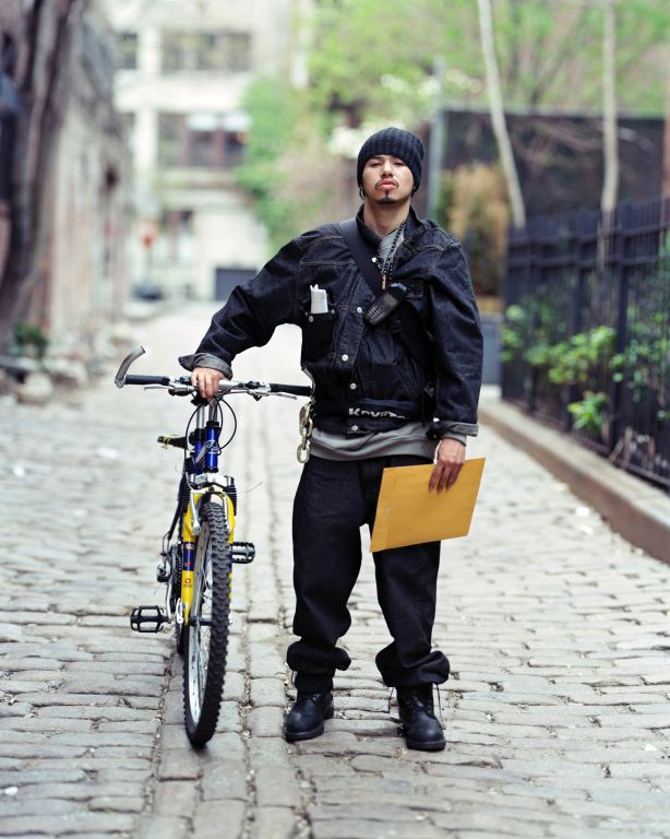 Bike Messenger, New York, NY, 2000