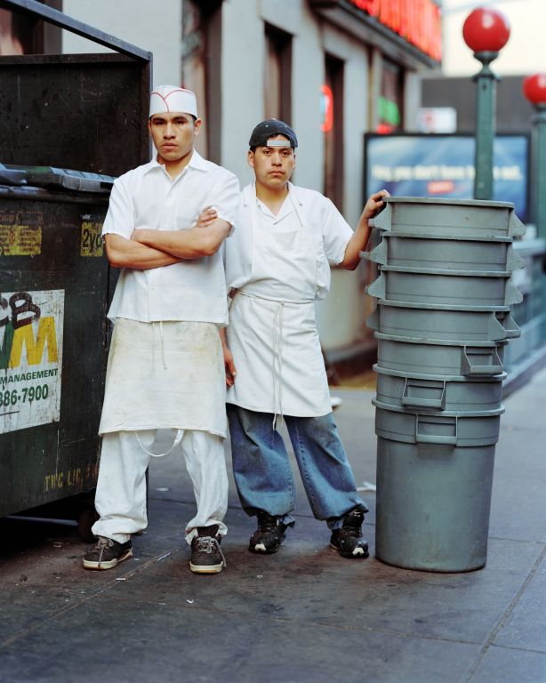 George and Mike, New York, NY, 2000