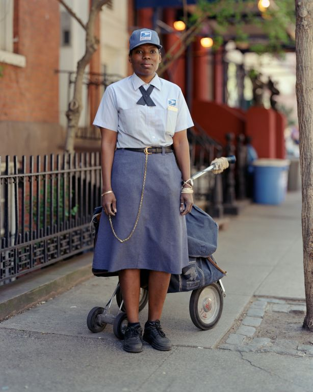 Letter Carrier, New York, NY, 2000