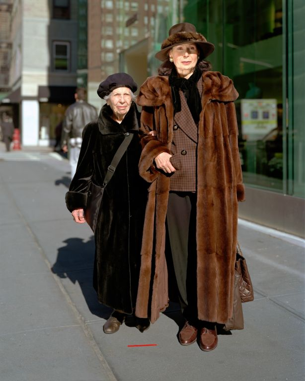 Vera and her mother, New York, NY, 1999