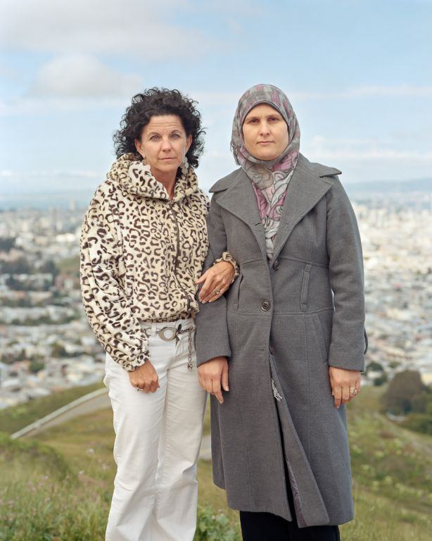 Annalee and Rayqa; San Francisco, CA, 2012