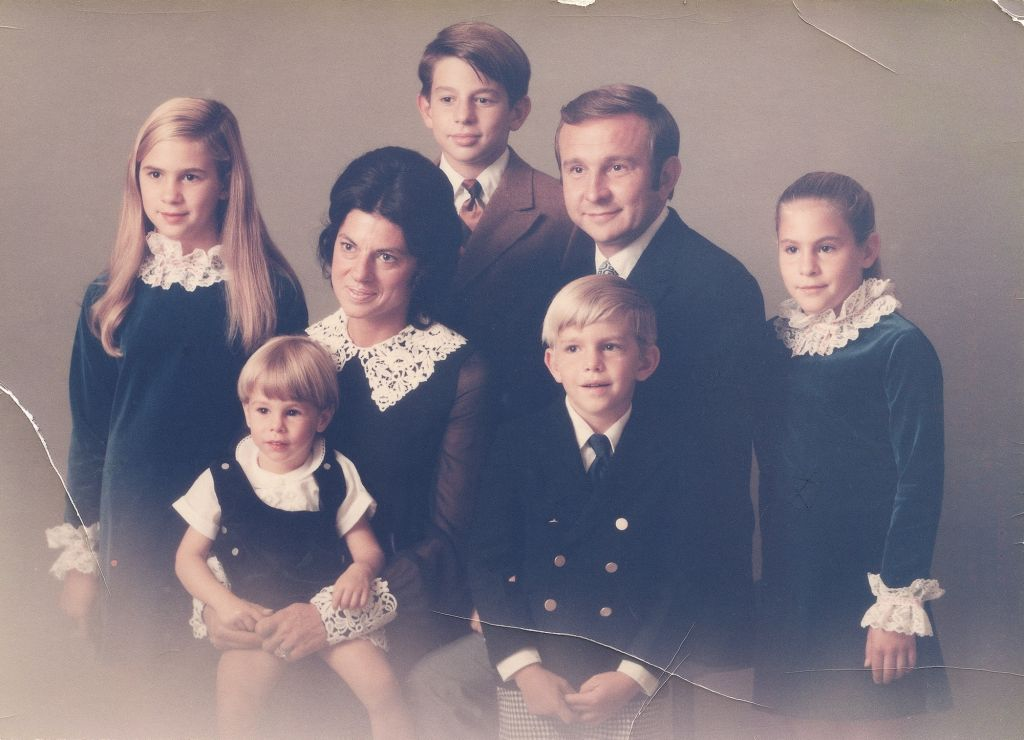 Renaldi Family, Palos Heights, IL, 1971