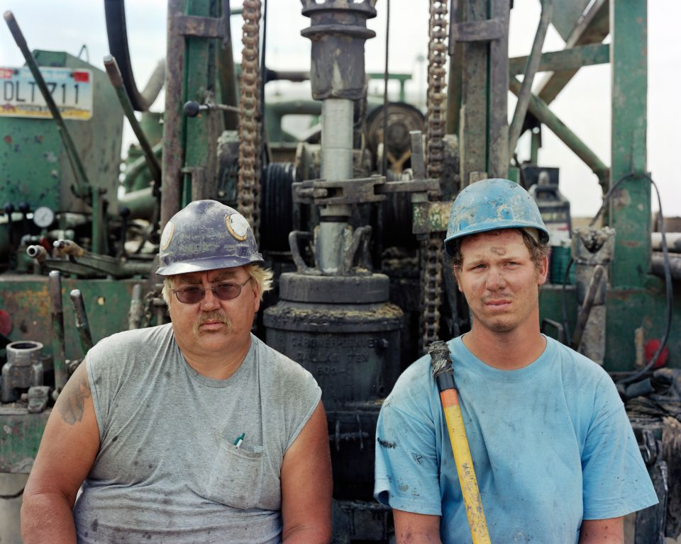 Kevin and Larry, Highway20, ND, 2006